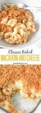 classic baked macaroni and cheese ahead of thyme