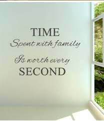 high quality family quotes sayings buy cheap family quotes sayings time spent with family is worth every 02 vinyl wall decals quotes sayings word on wall