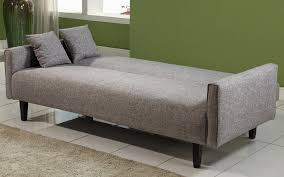 Powerful Grey Fabric Cheap Sofa Beds Design Completed With Small - Cheap bed sofa