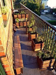 Beautiful Balcony Urban Growth My First Garden Balcony Installation