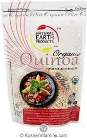 kosher for passover quinoa earth products kosher organic whole grain white quinoa