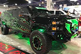 hauk designs sema a report on the hottest diesel powered cars and trucks of the 2017