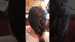 hair plait with chopstick easy french braid tutorial the hair dad youtube