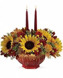 teleflora s thanksgiving garden centerpiece