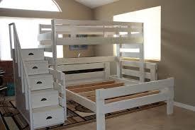 Queen Bunk Beds Full Size Bunk Beds With Desk Under Modern Desks - Full over queen bunk bed