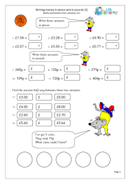 year 3 money worksheets urbrainy