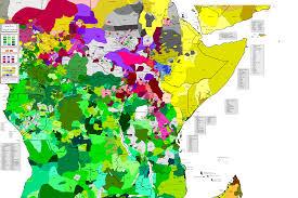 Kenya Africa Map by Breathtaking Map Of The Languages Of Africa Diversity Kenya Talks
