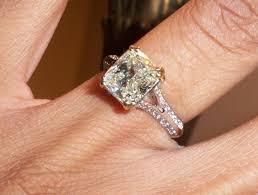 cushion cut split shank engagement rings warm cushion cut split shank split shank cushion cut and ring