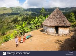 Traditional House Traditional House In The Mountains Of Maubisse East Timor