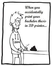College Printer Meme - dog receives a 3d printed prosthetic venomous stinger other 3d