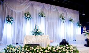wedding backdrop fabric 20ft 10ft white wedding backdrop with swags event and party fabric