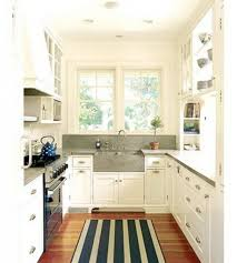 Galley Style Kitchen Floor Plans Galley Kitchen With Peninsula Galley Kitchen Dark Cabinets Galley