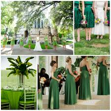 wedding in green design from a to z