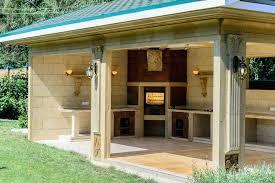abri de cuisine abri pour barbecue exterieur barbecue en naturelle abri