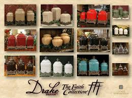 tuscan style kitchen canister sets 34 best canister collector images on canister sets
