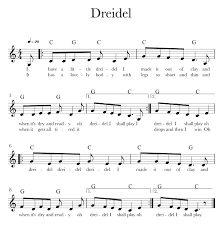 musical dreidel how to play left notes even if the sheet does not spell