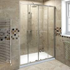 6mm double sliding shower door 1400mm victoriaplum com