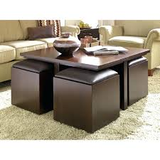 coffee table black bonded leather ottoman coffee table foot