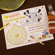 28 disney inspired thanksgiving crafts and printables
