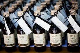 wine wedding favors the wonderful wine wedding favor