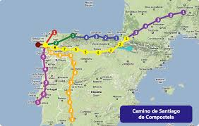 santiago de compostela camino camino de santiago de compostela 500 800km from st jean de