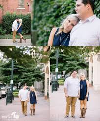 Charlotte Photographers Shannon John An Uptown Charlotte Engagement Session Revival