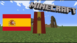 Flag Minecraft How To Make The Spanish Flag In Minecraft Youtube
