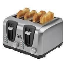 Extreme Toaster Kalorik 4 Slice Stainless Steel Toaster Bj U0027s Wholesale Club