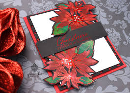 new poinsettia stamps featuring therm o web u2013 blog hop u0026 giveaway