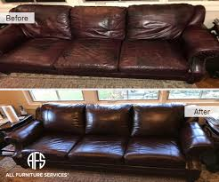 Leather Sofa Dyeing Service Gallery Before After Pictures All Furniture Services Part 4