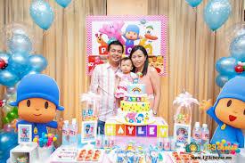 pocoyo party supplies baby s one year birthday celebration pocoyo theme