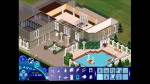 design a mansion the sims 1 building a mansion youtube
