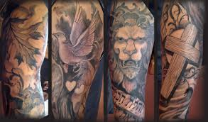 dove and cross tattoo image gallery lion and cross tattoo
