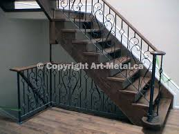 Iron Grill Design For Stairs Interior U0026 Indoor Stair Iron Railings Handrails Designs