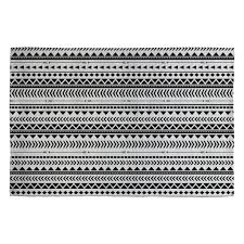White And Gray Rugs Allyson Johnson Black And White Aztec Pattern Woven Rug Deny