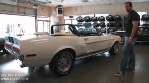 ford mustang gt350 for sale 1968 ford shelby mustang gt350 convertible for sale flemings with