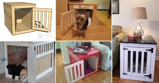 How To Build A End Table Dog Crate by 20 Fantastic Pet Bed Ideas