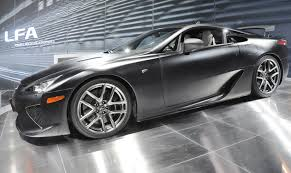 lfa lexus 2016 file lexus lfa matte black on turntable jpg wikimedia commons