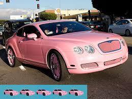 Light Pink Car Crazy Celebrity Cars