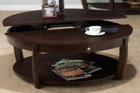 Round Dark Wood Coffee Table - square coffee table sets tableslarge with storage dark wood tables