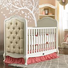 angelina upholstered crib french vanilla and nursery necessities