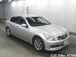 nissan skyline used car 2007 nissan skyline silver for sale stock no 41789 japanese
