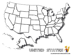 united states map outline free coloring pages united states map many interesting cliparts