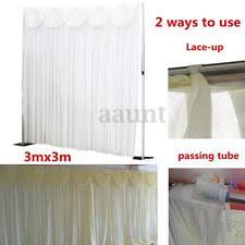 wedding backdrop curtains wedding backdrop ebay