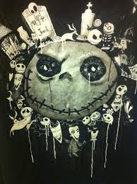 nightmare before christmas halloween background jack skellington shirt xl nightmare before christmas official
