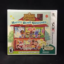 animal crossing happy home designer 3ds brand new us version