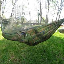 portable indoor outdoor hammock for backpacking camping hanging
