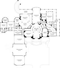 First Floor House Plan Caserta Mansion House Plans Residential House Plans
