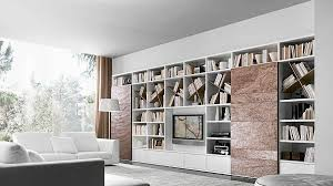 Modular Bookcase Systems Modular Bookcase System Blends Chic Style With Design Flexibility