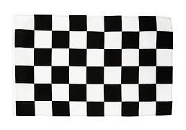 Black And White Checkered Checkered Black White Flag 12 X 18 Inch Best Buy Flags Co Uk